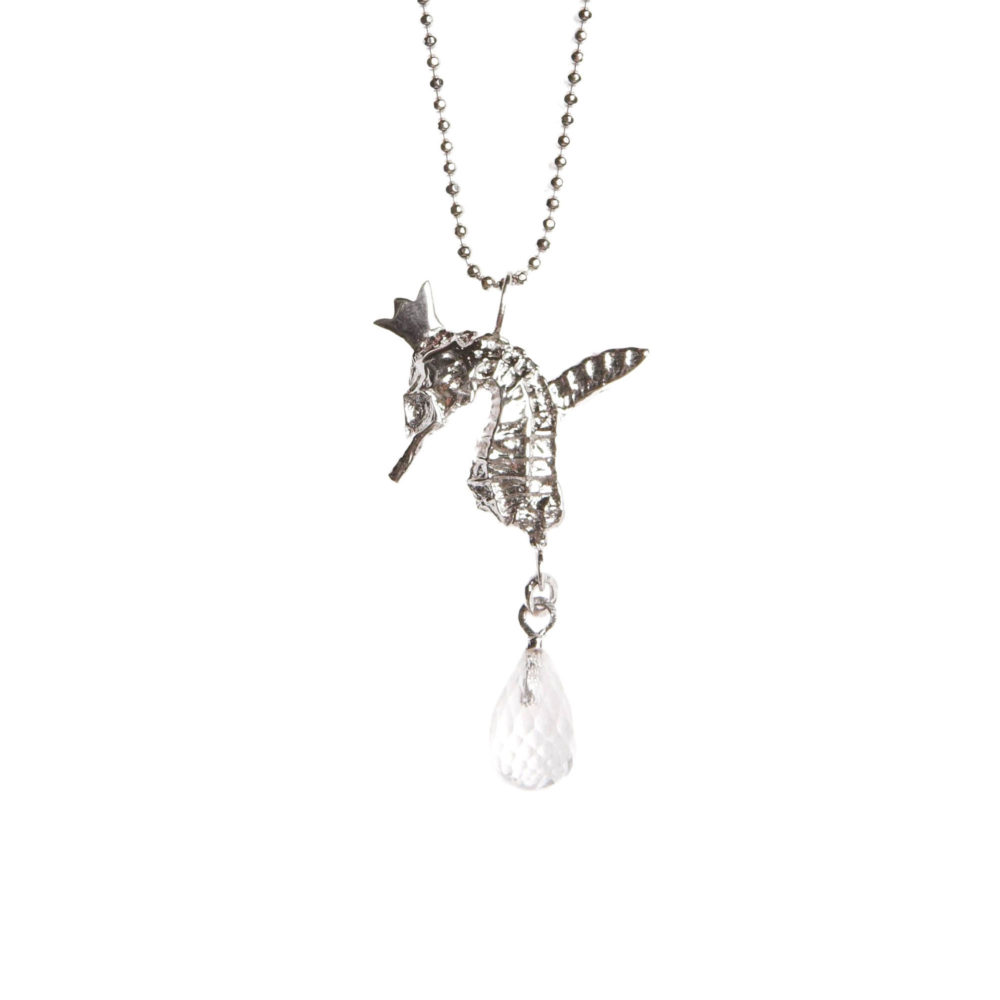 Crystal Hippo 1 Hippo Couture Pendant Tanel Veenre Jewellery