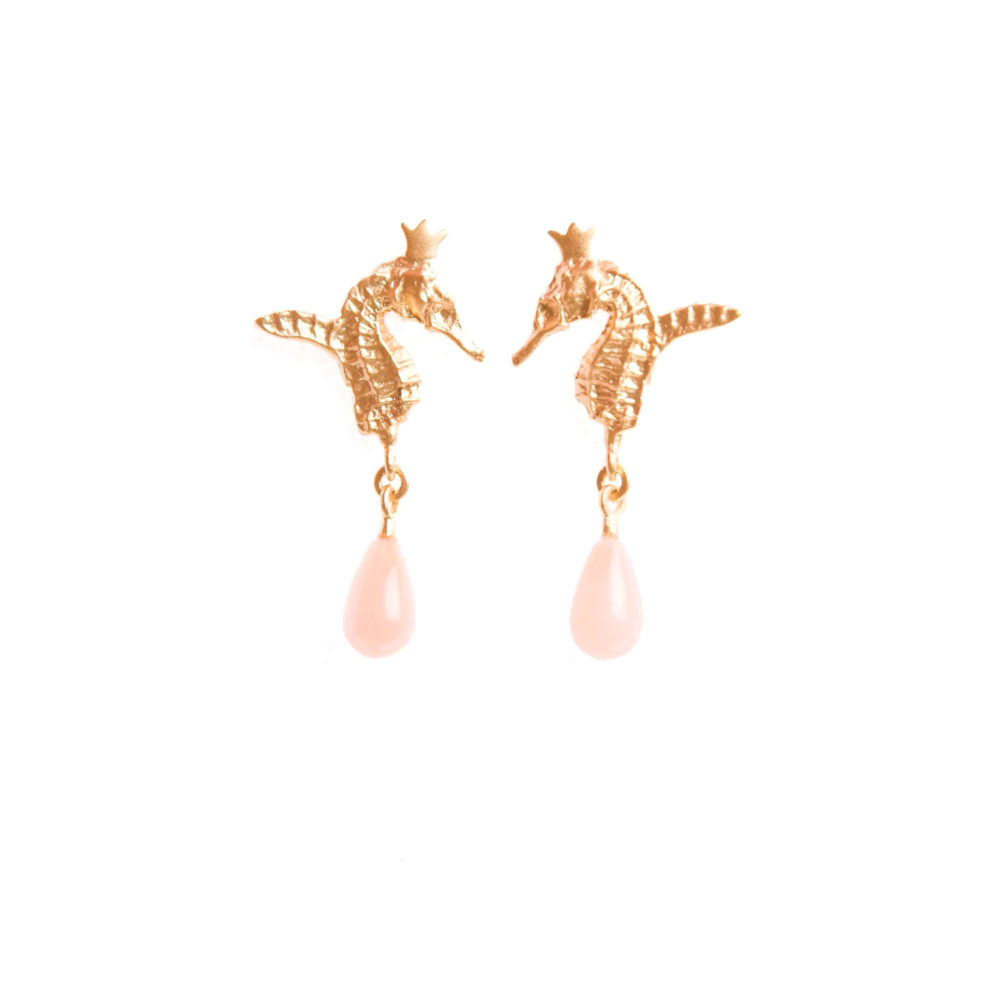 Good Morning Hippo 1 Hippo Couture Earrings Tanel Veenre Jewellery