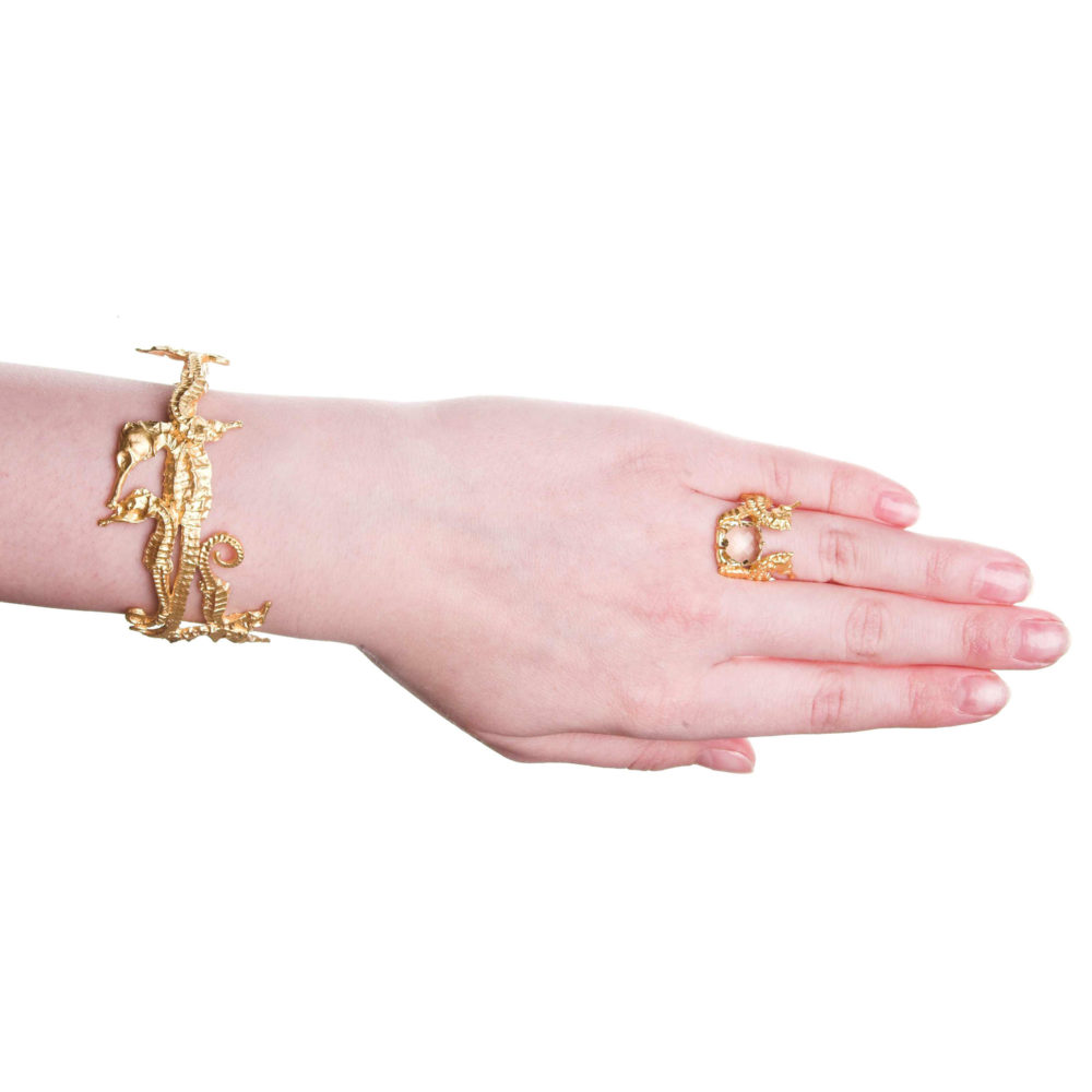Hippo Bangle Gold 2 Hippo Couture Bangle Tanel Veenre Jewellery