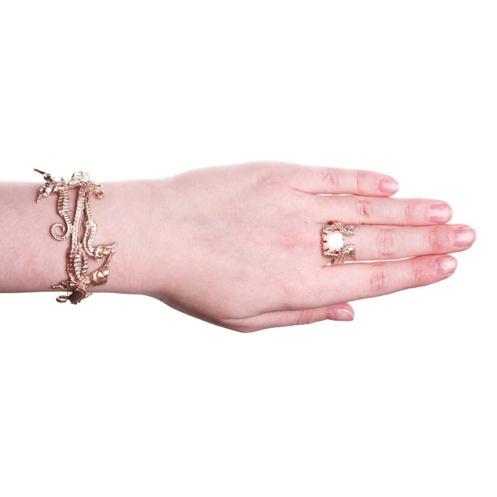 Hippo Bangle Rose Gold 2 Hippo Couture Bangle Tanel Veenre Jewellery