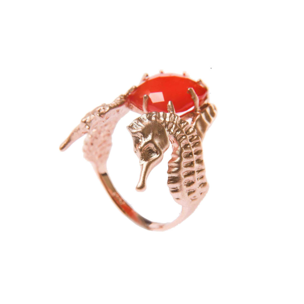 Hippo Fire Ring 1 Hippo Couture Ring Tanel Veenre Jewellery