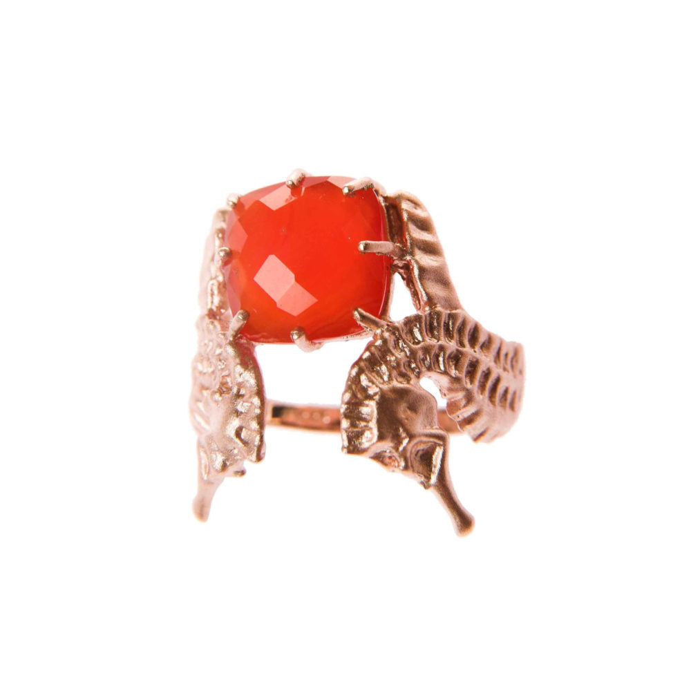 Hippo Fire Ring 2 Hippo Couture Ring Tanel Veenre Jewellery