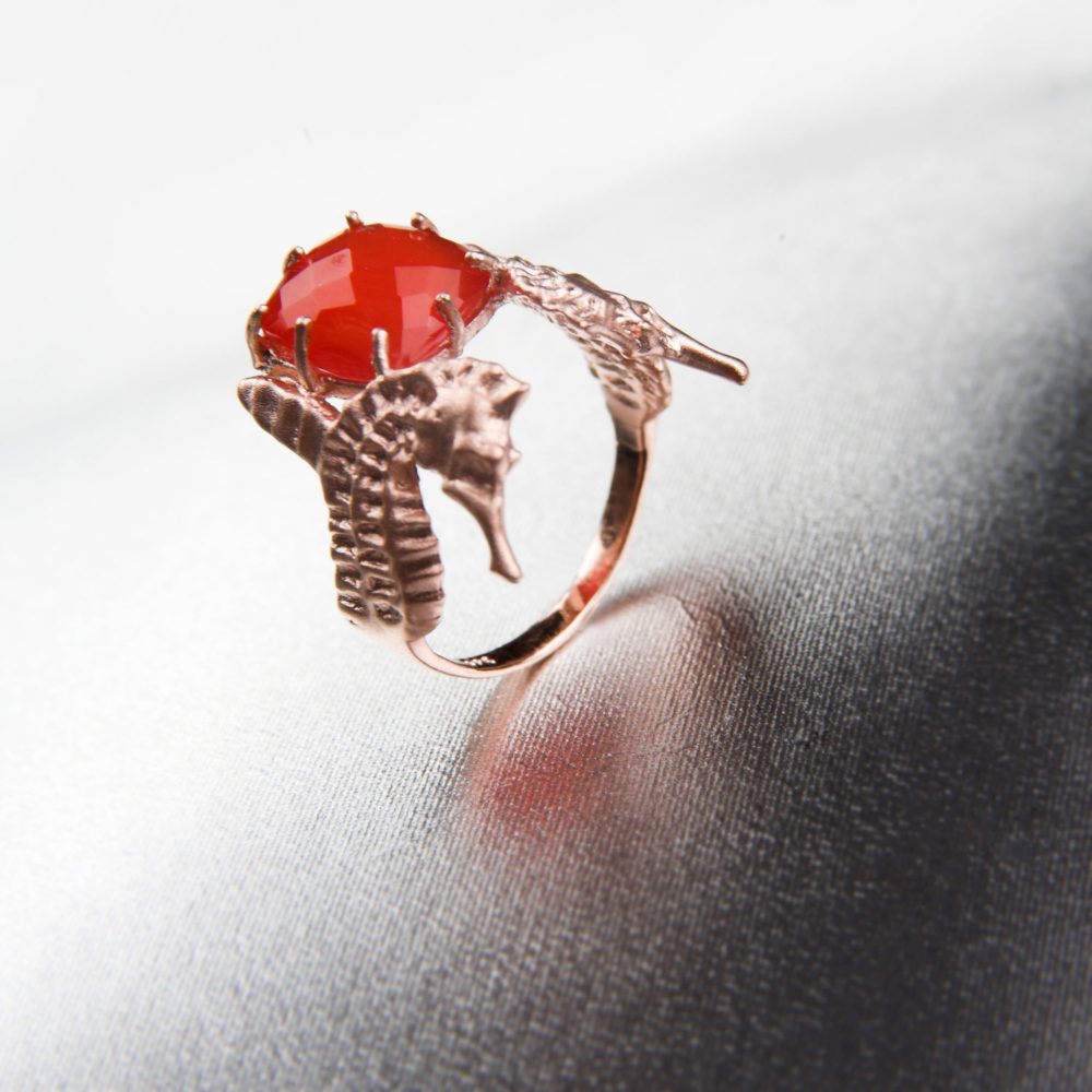 Hippo Fire Ring 3 Hippo Couture Ring Tanel Veenre Jewellery