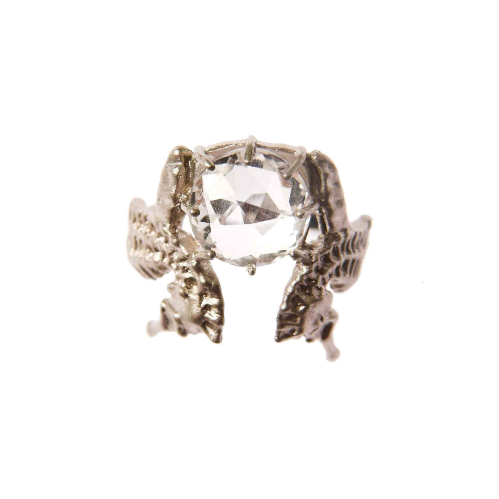 Hippo Halo Ring 2 Hippo Couture Ring Tanel Veenre Jewellery