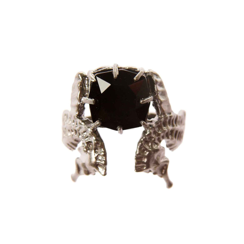 Hippo Midnight Ring 2 Hippo Couture Ring Tanel Veenre Jewellery