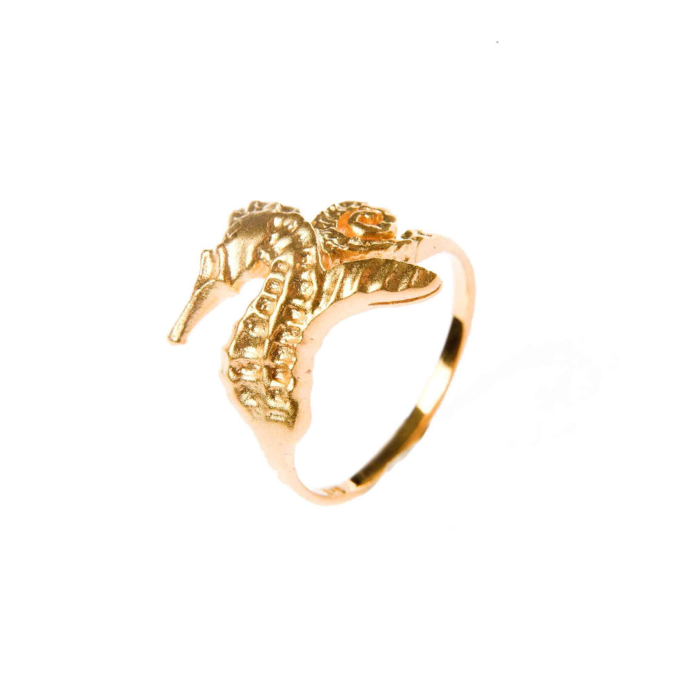 Hippo Ring Gold 1 Hippo Couture Ring Tanel Veenre Jewellery