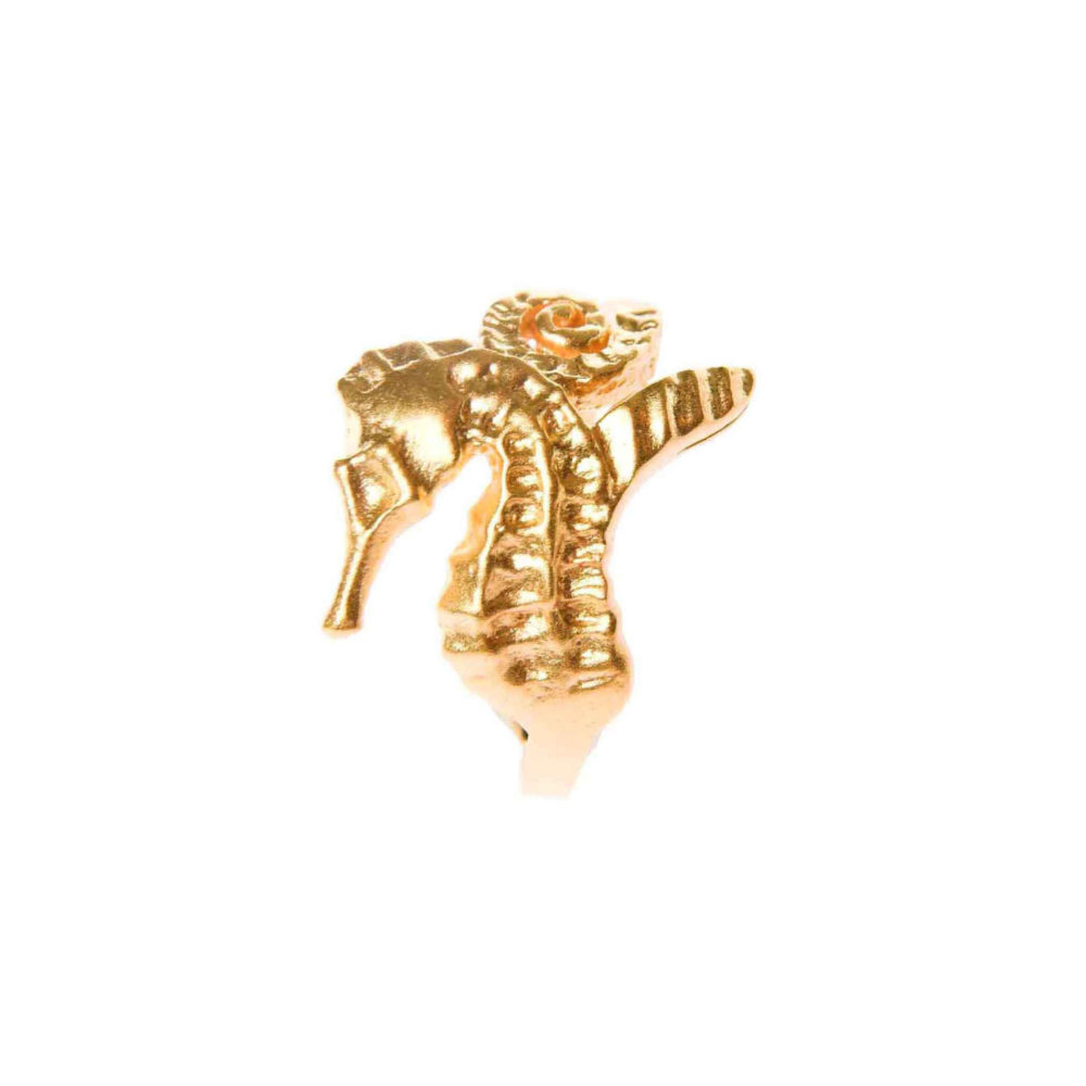 Hippo Ring Gold 2 Hippo Couture Ring Tanel Veenre Jewellery