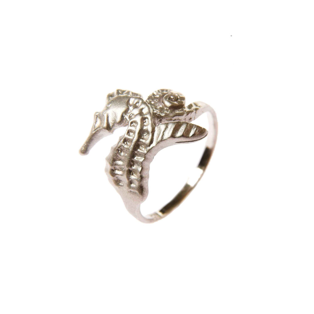 Hippo Ring Silver 1 Hippo Couture Ring Tanel Veenre Jewellery