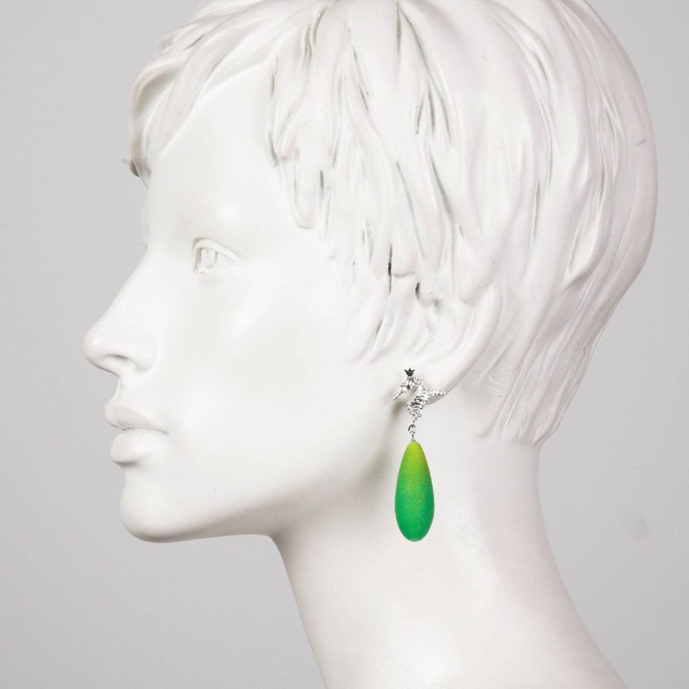Spring Hippo 2 Hippo Couture Earrings Tanel Veenre Jewellery