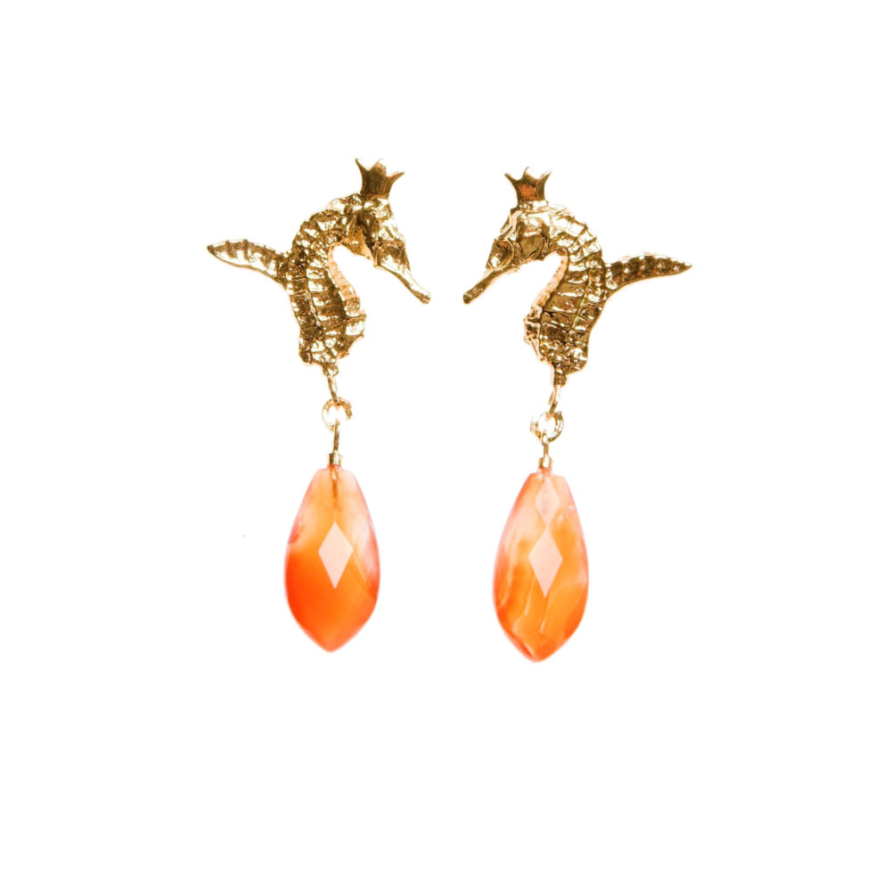 Sunny Hippo 1 Hippo Couture Earrings Tanel Veenre Jewellery