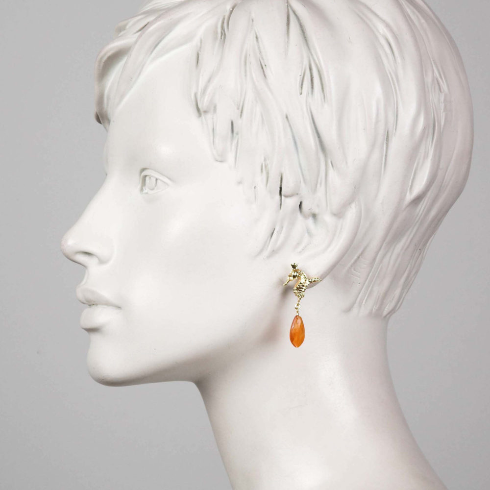 Sunny Hippo 2 Hippo Couture Earrings Tanel Veenre Jewellery